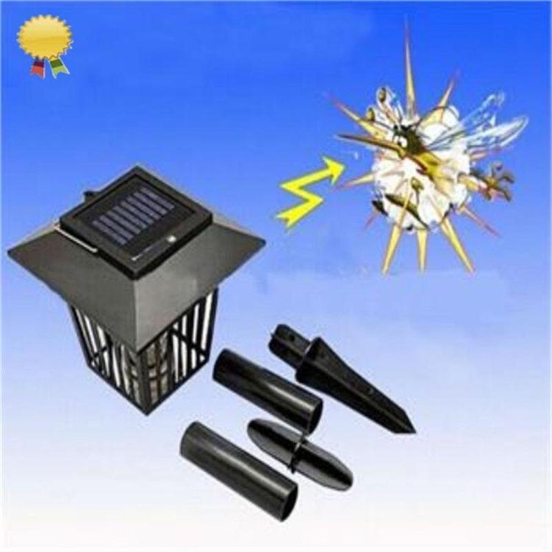 Solar garden light anti mosquito insect pest bug zapper - Led solar jardin ...
