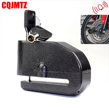 100DB Motorbike Motorcycle Alarm Lock Bicycle Pit Bike Scooter Anti theft Alarm Wheel Disc Brake Security