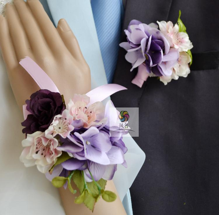 online get cheap wedding corsage aliexpress  alibaba group, Natural flower