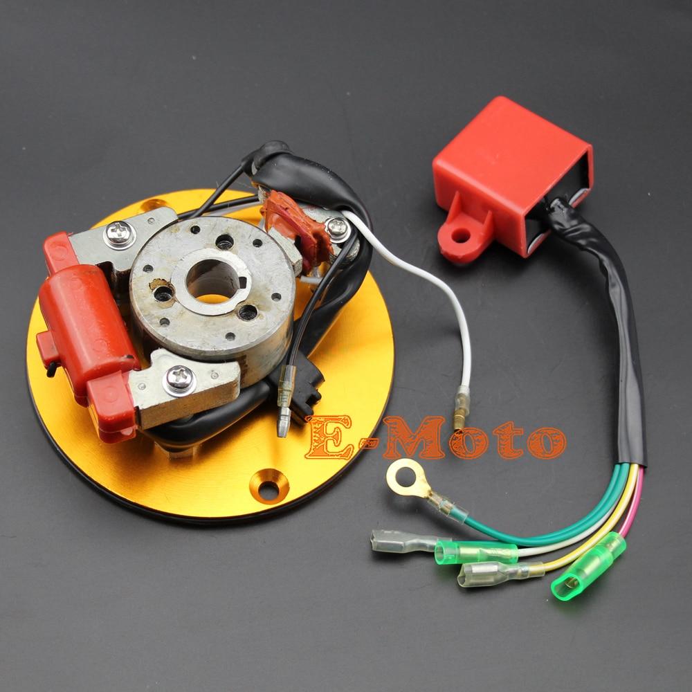 golden stator inner rotor kit for honda crf xr 70 z 50 taotao baja coolster sdg ssr bike in