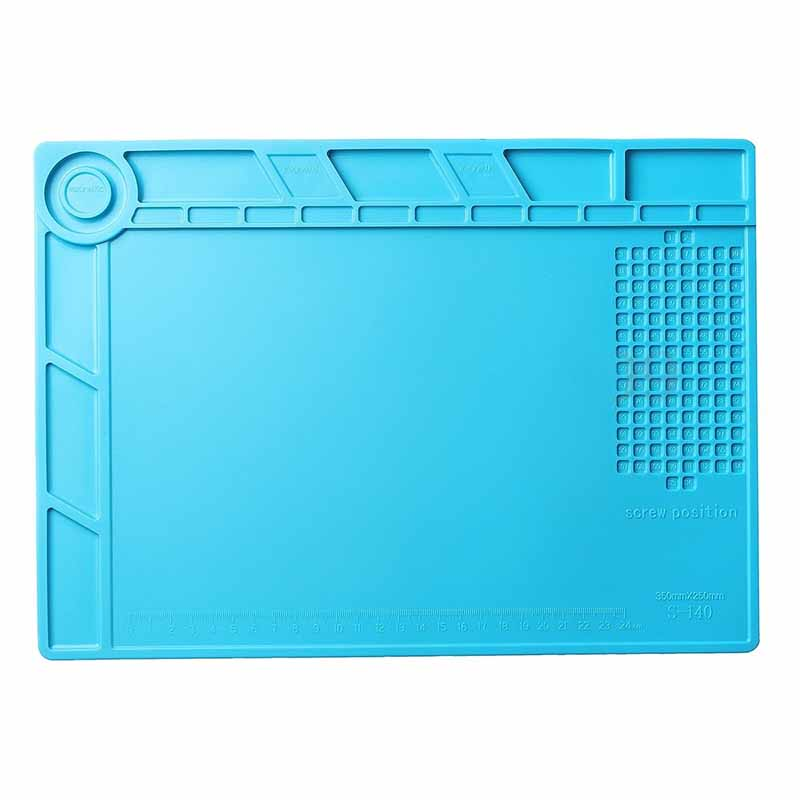 1* Heat Insulation Silicone Pad <font><b>Mat</b></font> For <font><b>Phone</b></font> <font><b>Repair</b></font> Maintenance Heat Solder New