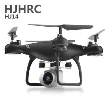 HJ14 WIFI FPV With Camera Wide Angle 200 Million HD High Hold Mode Foldable Arm RC Quadcopter Drone Foldable Helicopter Airplane