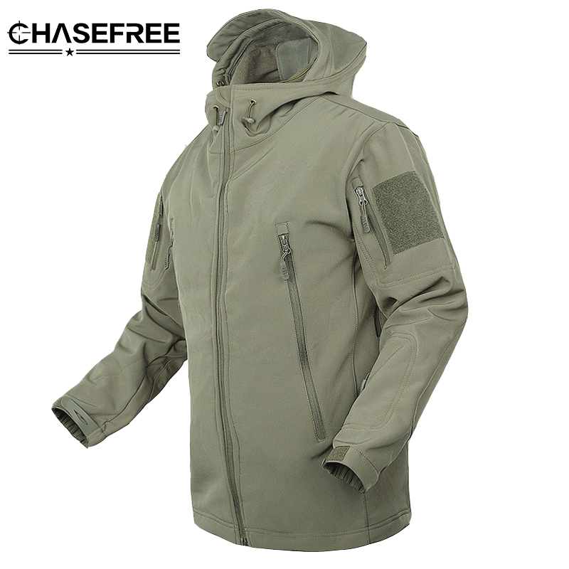 CHASEFREE Military Tactical Men windbreaker Jacket Coat