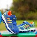 Zapatos de primavera 2016 de los niños zapatos para correr zapatillas de deporte para niños y niñas niños zapatillas Con Cordones niños niñas-puerta de zapatos