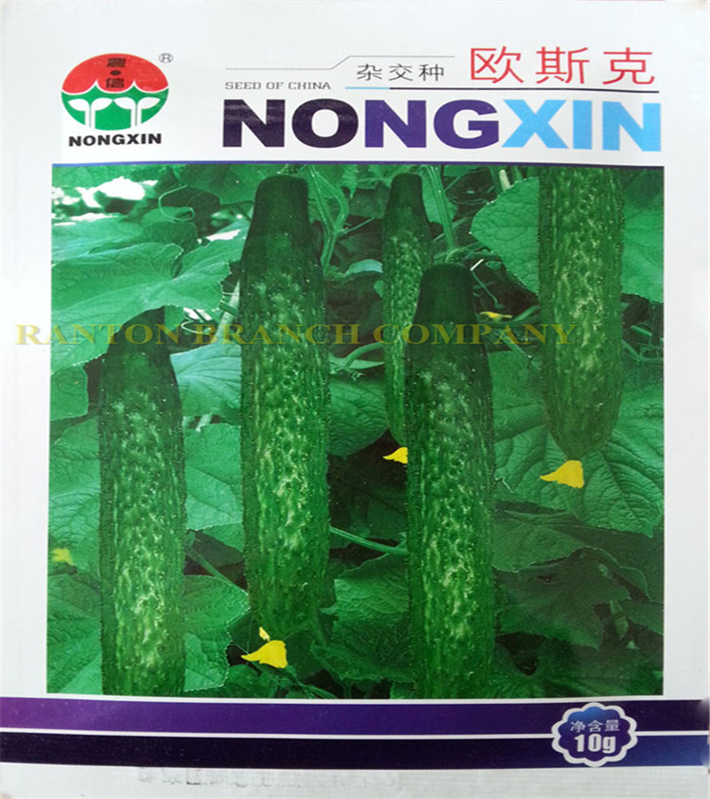 10G NONGXIN Green Cucumber seed,  Early disease-resistant vegetable seeds for home garden