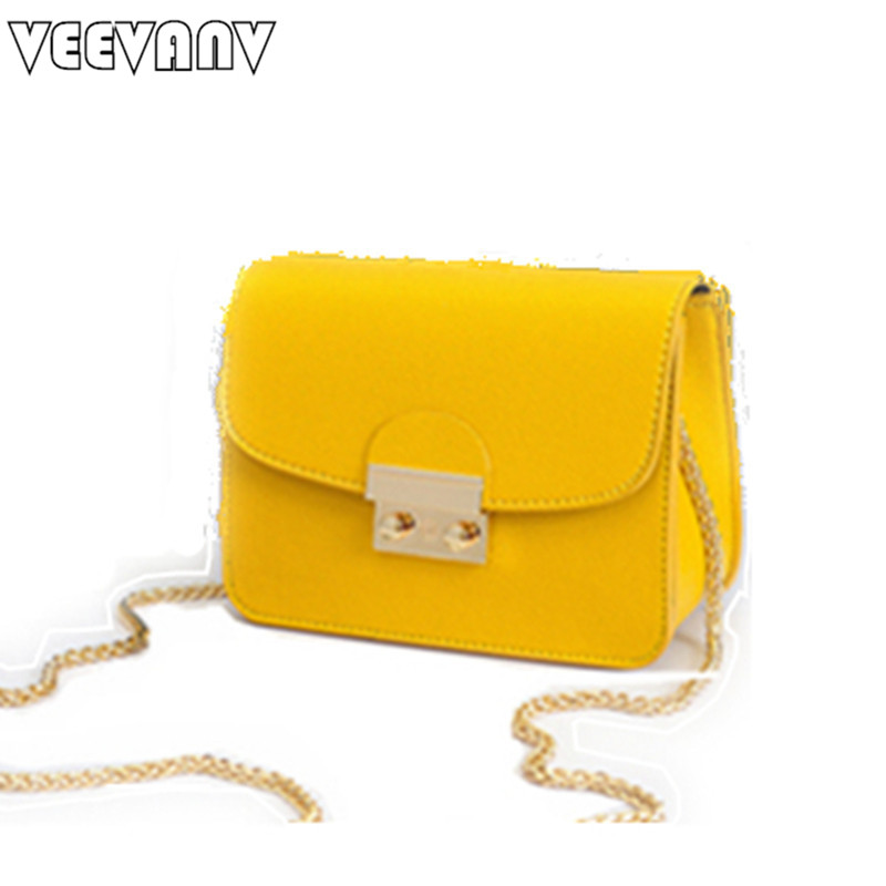 2017 VEEVANV Designer Leather Handbag Chain Shoulder Bags Women Messenger Bags Female Small Hand Bag Mini Crossbody Purse Bolsas  fun fashion personality disposable leather pu leather chain shoulder bag handbag female crossbody mini messenger bag purse
