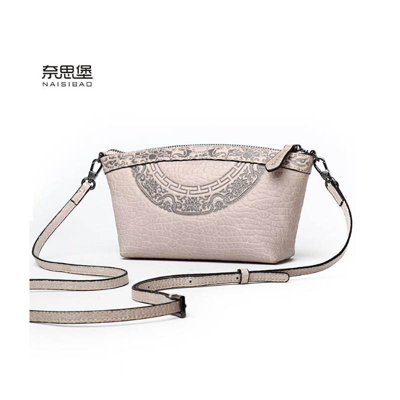2017 New women genuine leather bag luxury handbags women bags designer fashion women shoulder Crossbody bag leather bag small 2017 new fashion luxury handbags women leather bags designer college students crossbody shoulder messenger bags small bag baobao