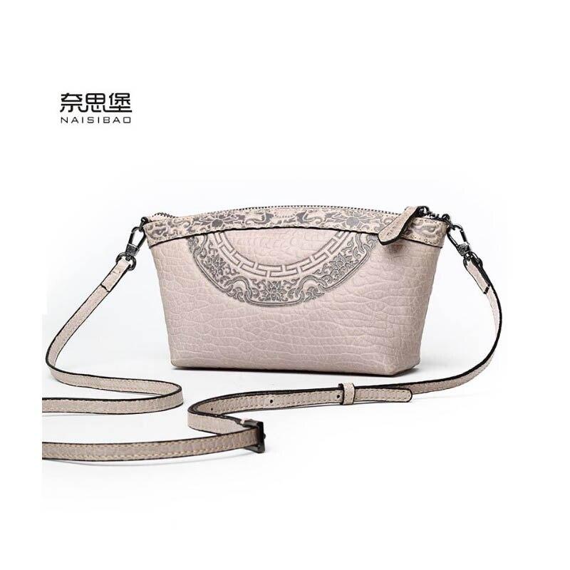 2020 New women genuine leather bag luxury handbags women bags designer fashion women shoulder Crossbody bag leather bag small