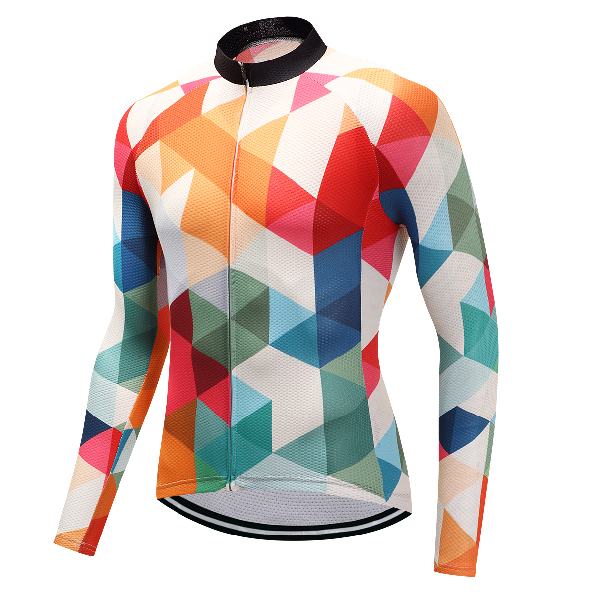 Fualrny Winter Long Sleeve Cycling Clothing Mountain Bicycle Wear Maillot Ropa Ciclismo Invierno Thermal Fleece Bike Jersey