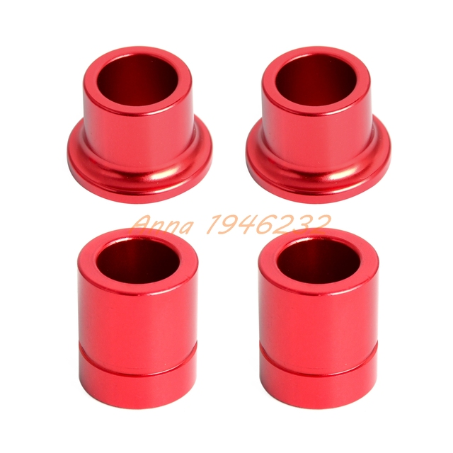 Cnc Red Front Rear Wheel Hub Spare Kit For Honda Crf250l Crf250m