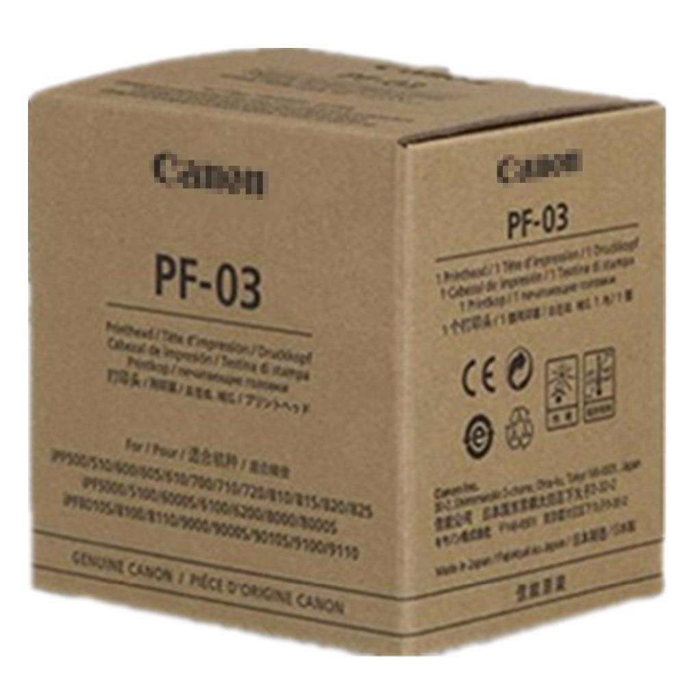 ORIGINAL NEW PF-03 Printhead Print Head For Canon iPF825 iPF5000 iPF5100 iPF6000S iPF6100 iPF6200 iPF8000 iPF8000S iPF8010S