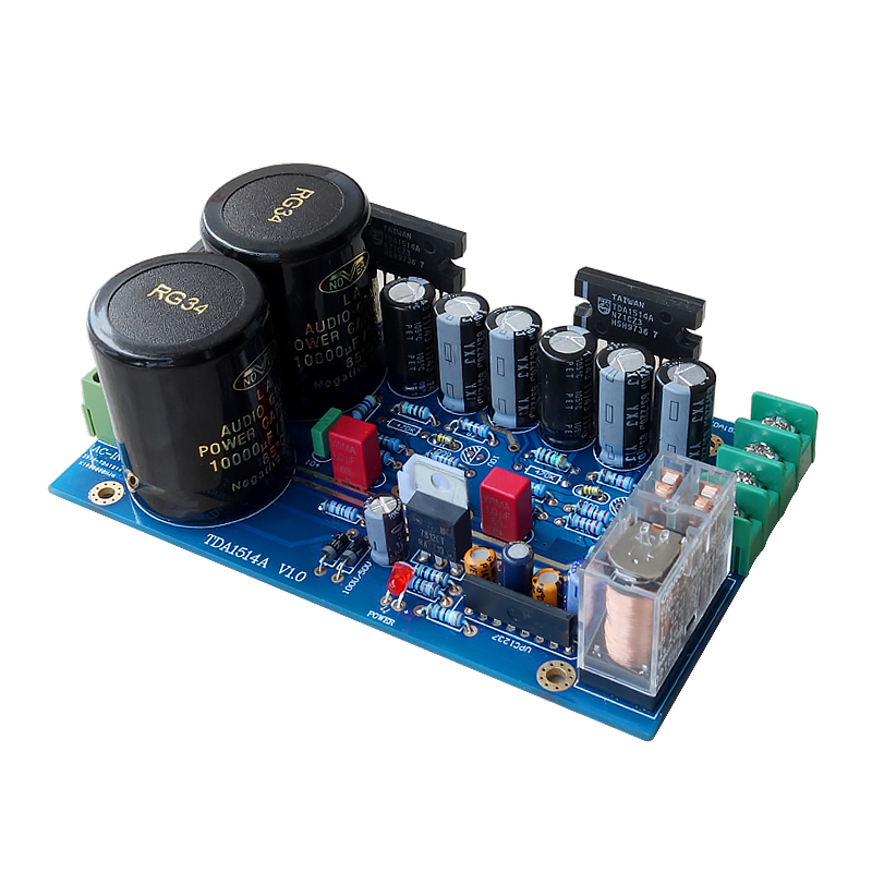 Steady Lm3886 Subwoofer Audio Amplifier Board Bass Amp 68w Kits For 2 Frequency Divider Preamp Linquets Audio & Video Replacement Parts