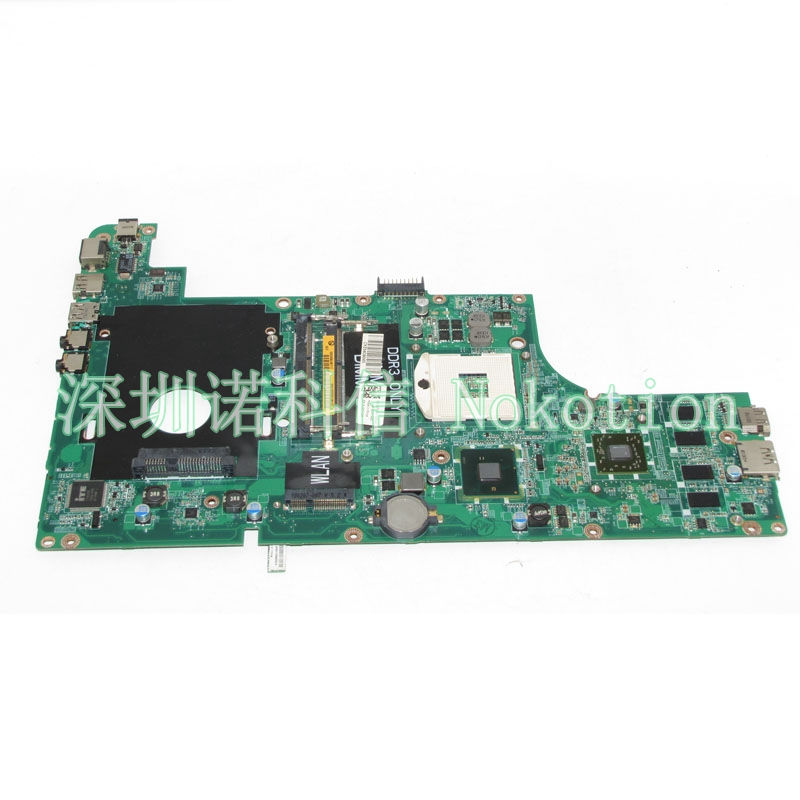 NOKOTION CN-0CTK0W CTK0W DAUM7BMB6E0 For Inspiron N3010 laptop motherboard HM57 HD4500 DDR3 nokotion brand new qcl00 la 8241p cn 06d5dg 06d5dg 6d5dg for dell inspiron 15r 5520 laptop motherboard hd7670m 1gb graphics