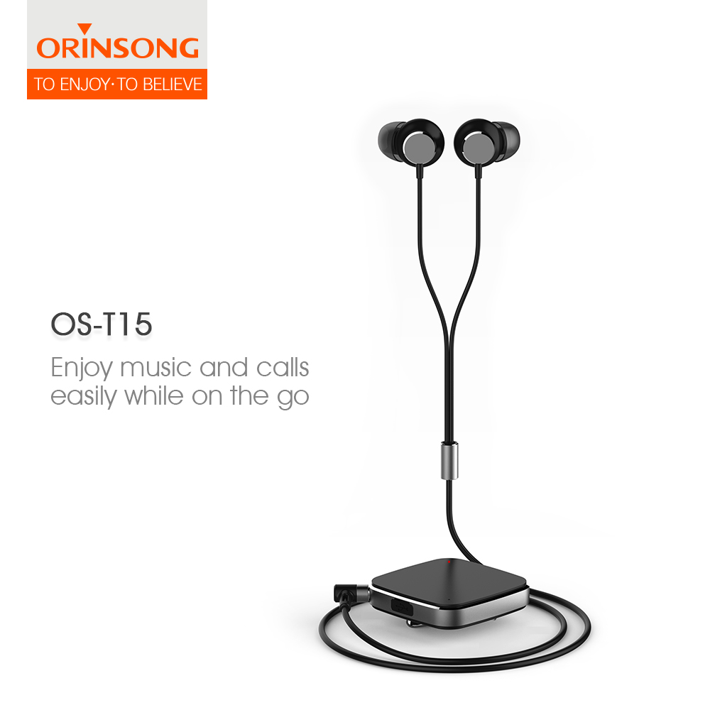 Perfect sound bluetooth headset clip-on bluetooth 4.1 stereo sports headset Sporty Earphones from China supplier