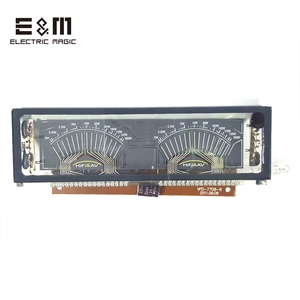Image 3 - 140*40mm VFD Module Screen Panel Graphical Lattice for HIFI Power Amplifier SCM Fluorescent Display with Driver Board VDF 7708 8