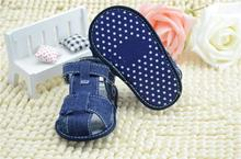 Blue Jeans Baby Sandal Shoes