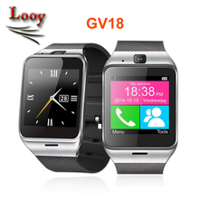 2016 new GV18 Plus Waterproof Aplus Smart watch phone GSM Camera wrist Watch SIM card Smartwatch for Samsung Android Phone