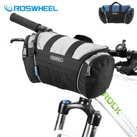 ROSWHEEL 4L Bicycle Tube Bag Trunk Handlebar Pack Bike Baskets Cycle Cycling Front Frame Pannier Reflective