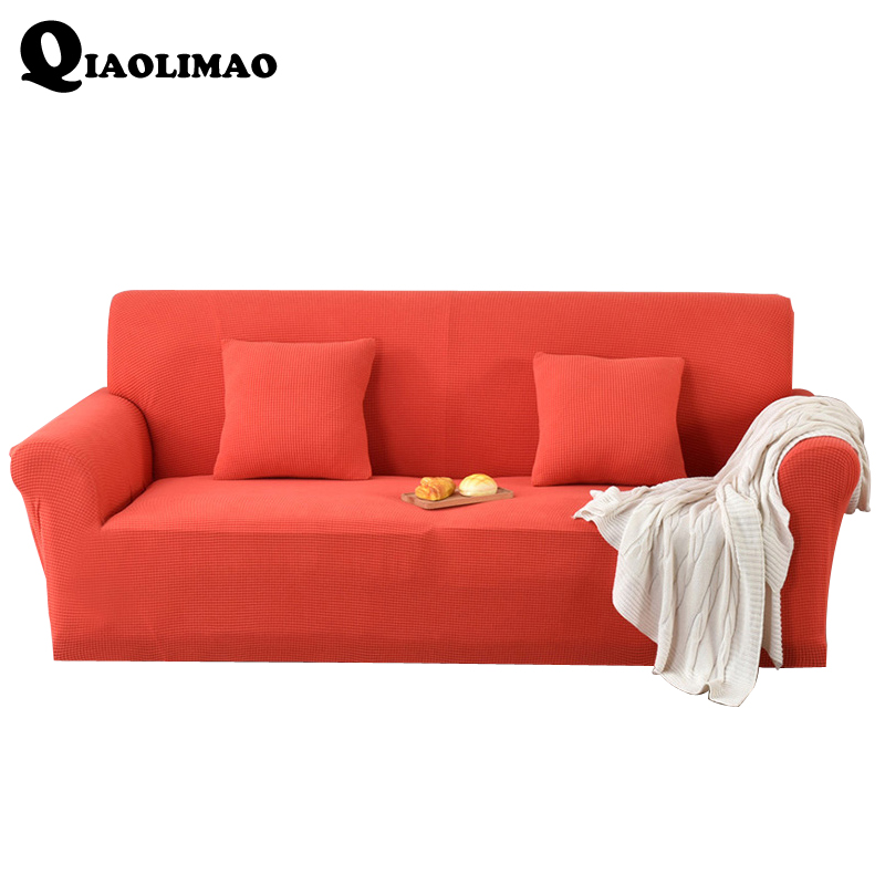 Enjoyable Us 39 99 50 Off 2018 Three Seat Stretch Sofa Cover Big Elasticity Couch Cover Loveseat Sofa Funiture Cover Solid Machine Washable Sofa Slipcover In Gmtry Best Dining Table And Chair Ideas Images Gmtryco