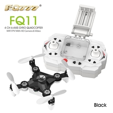 FQ777 FQ11 Mini Helicopter WiFi FPV RC Quadcopter Transmitter With Foldable Arm 3D Mini 2.4G 4CH 6 Axis Headless Mode RC Drone