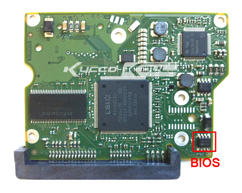 hard drive parts PCB logic board printed circuit board 100546571 for Seagate 3.5 SATA hdd data recovery hard drive repair