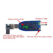 DC-DC 5V 1 V-24 V Module de tension réglable Module d'alimentation Boost convertisseur abaisseur automatique J6PD(China)