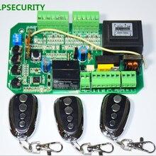 LPSECURITY 3 Пульт дистанционного управления раздвижные ворота открывалка двигателя печатной платы плата контроллера карты для PY600 L 220 V/110 V AC мотор использования