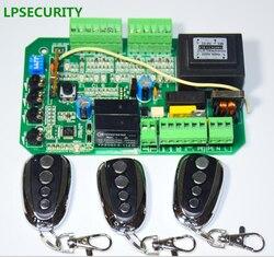 LPSECURITY 3 afstandsbedieningen schuifpoort opener motor pcb circuit board controller card voor PY600 L 220 v/110 v AC motor GEBRUIK