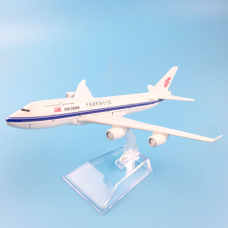 Air China Limited Boeing 747 400 Alloy Metal Model Plane