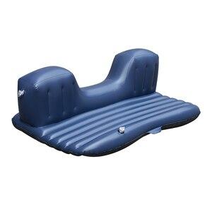 Image 4 - Надувная кровать для заднего сиденья автомобиля, ПВХ, надувная дорожная кровать, надувной матрас для кемпинга