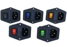 Горячая Распродажа, 1 шт., 10 А, 250 В, входной модульный штепсель, выключатель, штепсельная розетка питания, 3 контакта, IEC320 C14, новинка, 3