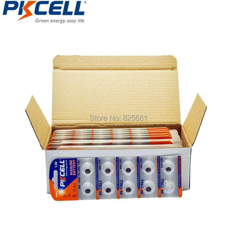 500 ピース 50 カード AG4 アルカリボタンコイン電池 LR66 177 626 LR626 電池弾丸卵腕時計電卓リモート制御  グループ上の 家電製品 からの ボタン電池 の中 2