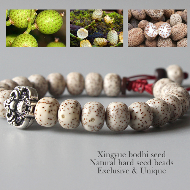 Tibetan Bodhi Seed Mala Bracelet 1