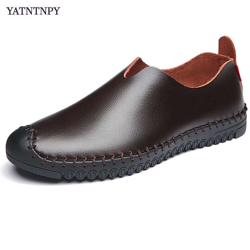 726a5330946 7702 г. женская обувь для вождения из натуральной кожи на плоской ...