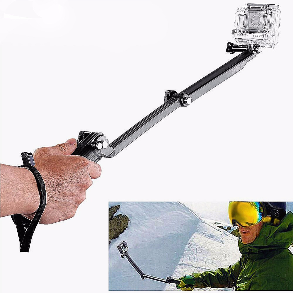 Three way Monopod for GoPro three Way mount