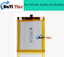 100% New High Quality For Vernee Apollo Lite Battery 3100mAh Replacement accessory Battery For Vernee Apollo Lite Phone in stock