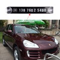 New Hot Sale Universal Temporary Car Parking Card Magnetic Phone Number Card Plate Sucker Car Sticker for Subaru Car Accessories