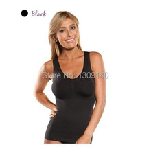 Cami shaper by Genie Bra with Removable Pads Look Thinner Instantly Women Slimming Shapewear Camisole Hot Shapers