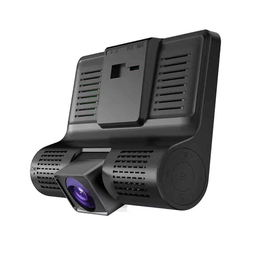4,0 Inch Auto DVR 3 Kameras Objektiv Dash Kamera Dual Objektiv Mit Rück Kamera Video Recorder Dash Cam Auto Registrator dvrs