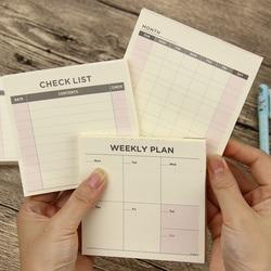 1 pcs cute kawaii weekly monthly work planner book diary agenda filofax for kids school supplies.jpg 250x250