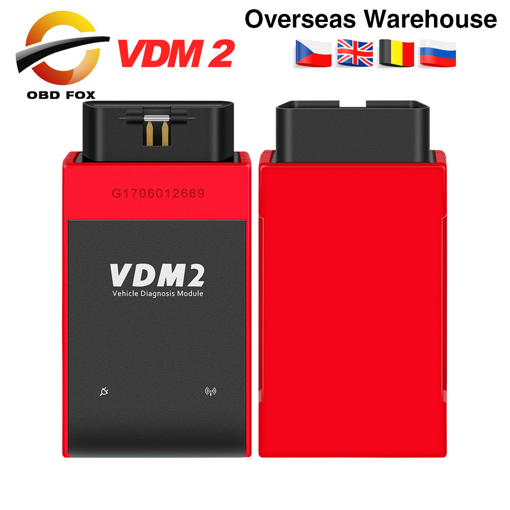 UCANDAS VDM2 VDM II UCANDAS WIFI Car Automotive Scanner VDM 2 V5.2 Support Multi Language and Android System Free shipping-in Car Diagnostic Cables & Connectors from Automobiles & Motorcycles on