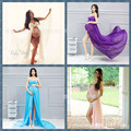 Pregnant women photographic studio photography theme dress dress