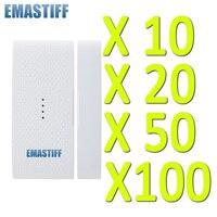 Free Shipping Wireless Door Sensor Detector Magnetic Contact Door Contact 433mhz 1527 For GSM PSTN Home