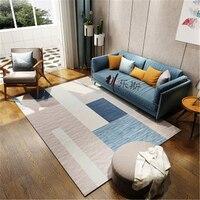 Nordic Soft Large Carpets For Living Room Bedroom Kid Room Rugs Home Carpet Floor Door Mat Delicate Large Fashion Area Rug