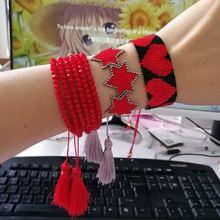 Shinusboho подвеска звезда кисточка ювелирные изделия Миюки