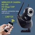 Мегапиксельная HD беспроводная ip-камера 720 P радионяня Сеть WI-FI pt поддержка onvif nvr Цифровой Безопасности ИК Инфракрасного Ночного видение