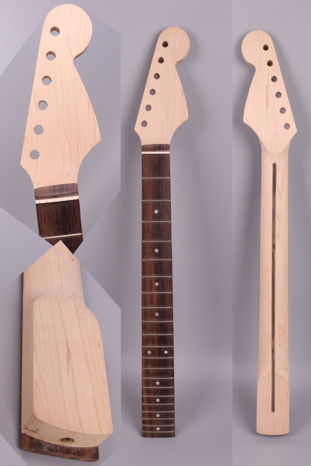 ST electric guitar neck 21 fret 25.5'' rose wood maple Fretboard Truss Rod #19 high quality electric guitar neck truss rod adjustmrnt 440mm guitar parts wholesale