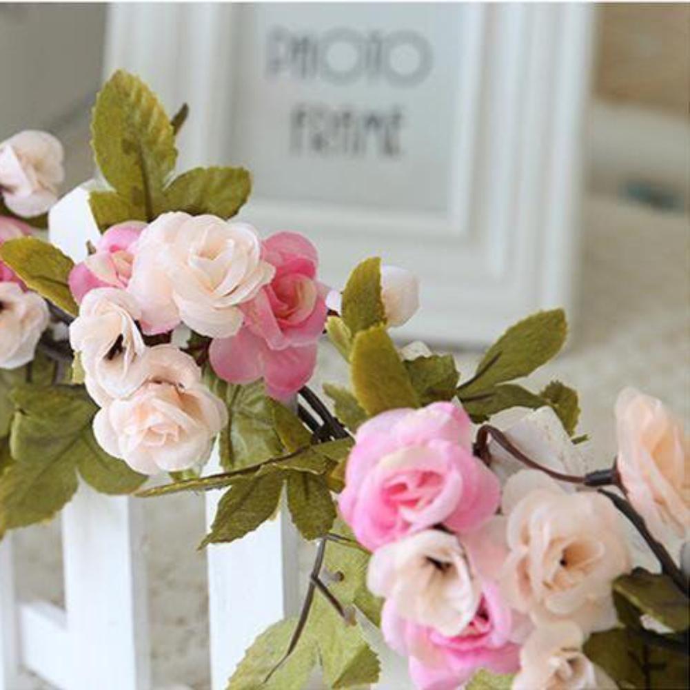 rose rose guirlande fleur vintage shabby chic style de mariage