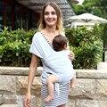 Nova Capa De Enfermagem Do Bebê Sling Envoltório Portador de Bebê Hipseat Backpack & Saco crianças Yrs Birh-3 Amamentação Algodão Natural Produtos