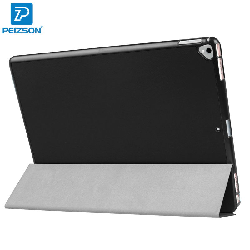 For NEW iPad Pro 12.9 2017 Case,Flip PU Leather Tablet Case for Apple iPad Pro 12.9 2017 Cover With Auto Sleep Function+Pen for apple ipad pro 10 5 case 2017 new pu leather slim smart cover w pencil holder wake sleep function for ipad pro 10 5 case
